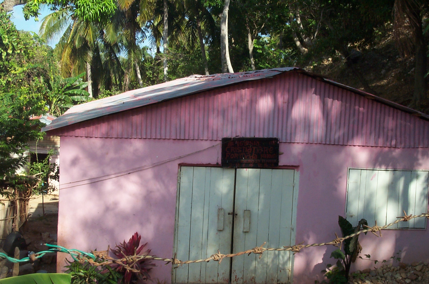 Iglesia Cristiana Reformada Paraíso, Barahona, República Dominica.