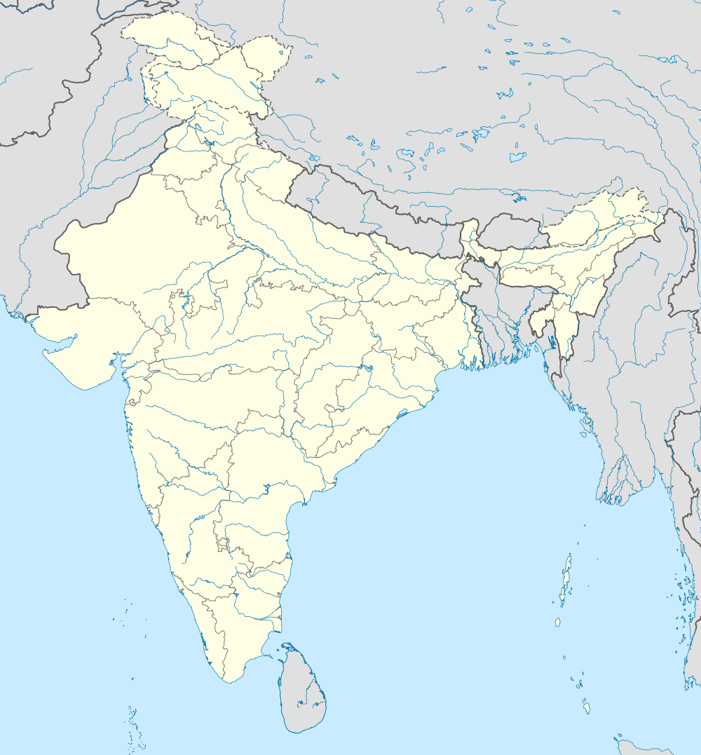 Location of Bombay Stock Exchange in India