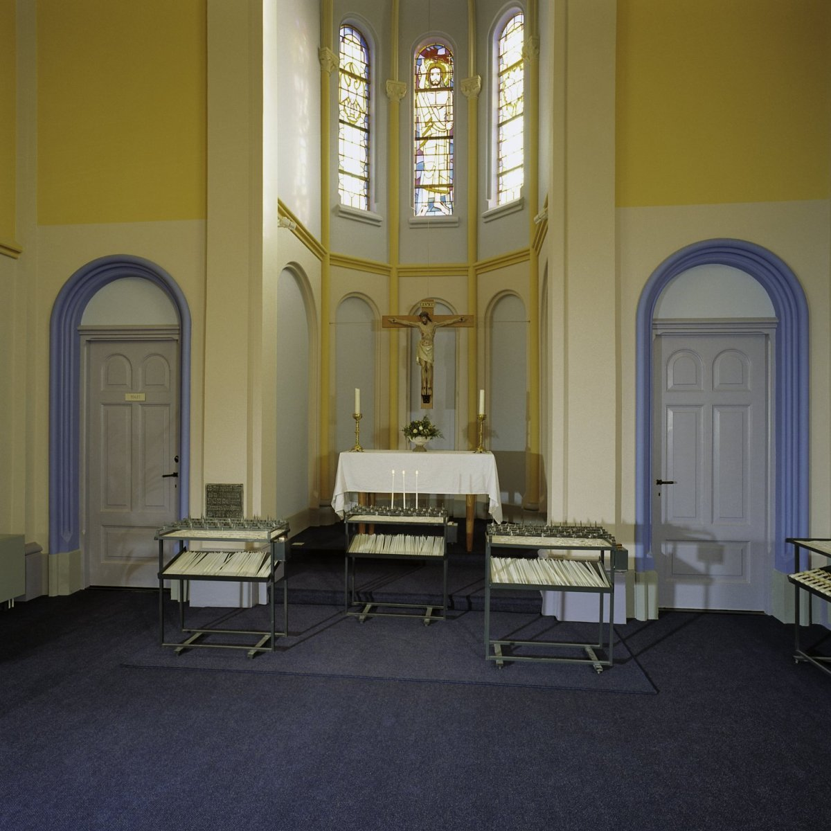 File:Interieur, overzicht koor - Gouda - 20375785 - RCE.jpg ...