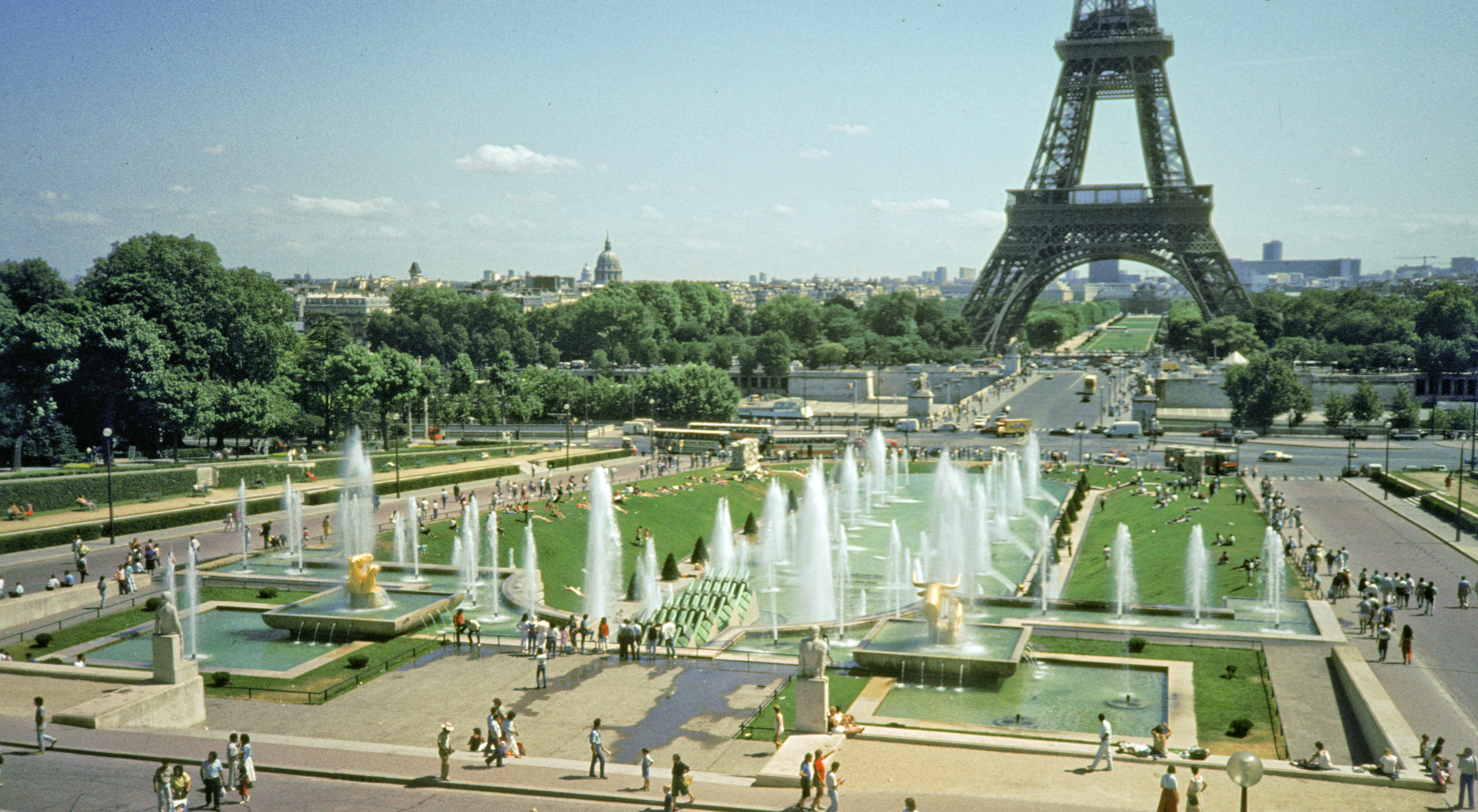 Trocadero for Paris jardin
