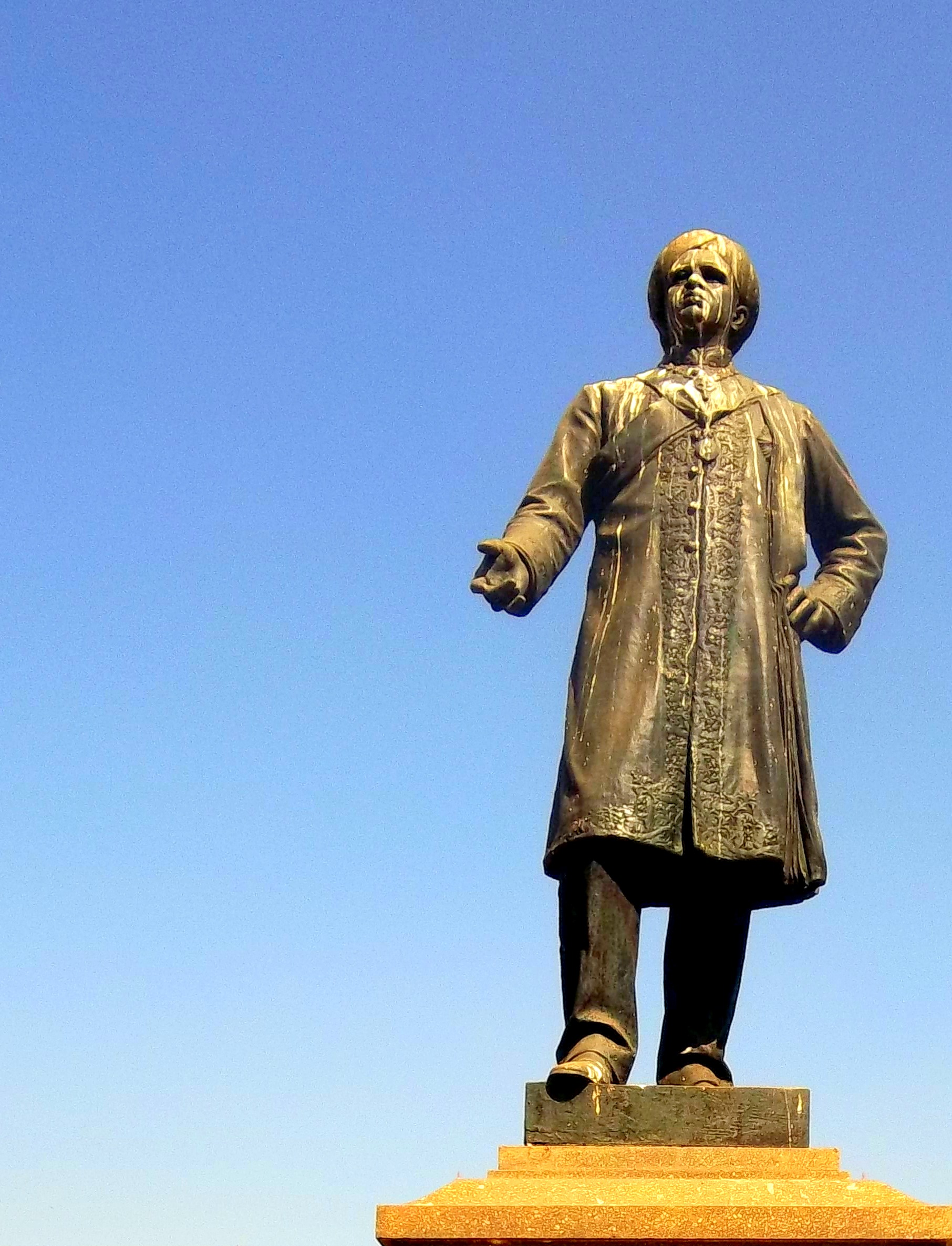 K.Sheshadri Iyer Statue, Cubbon Park