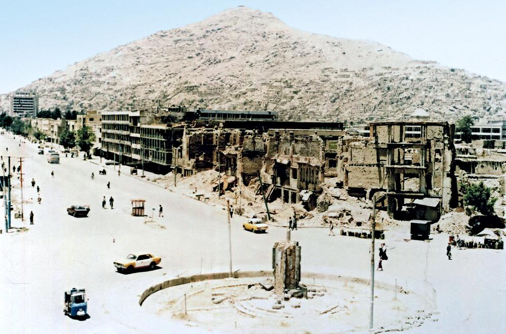 Afghan Civil War 1992 1996 Wikipedia