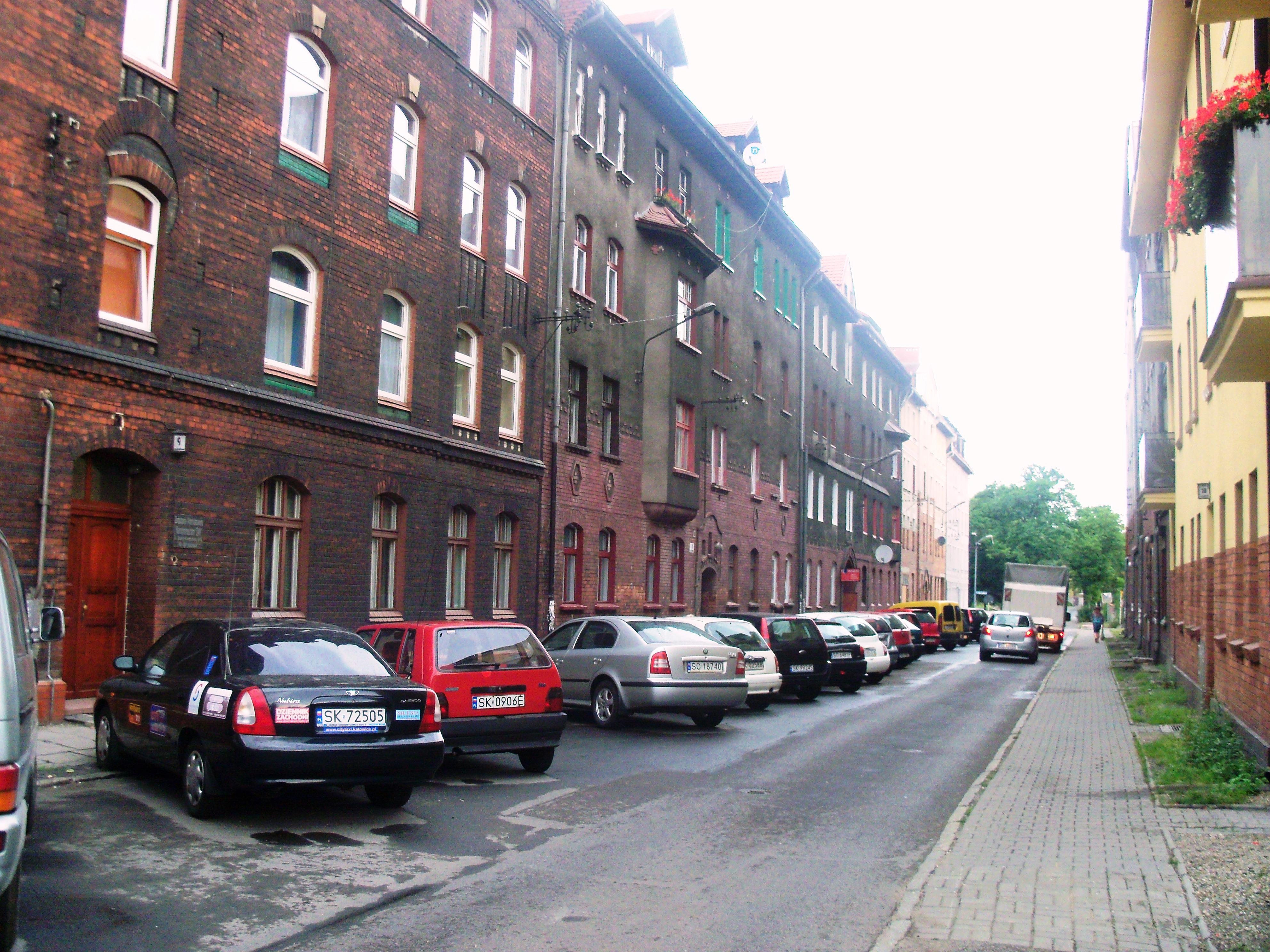 Ulica Józefy Kantorówny w Katowicach