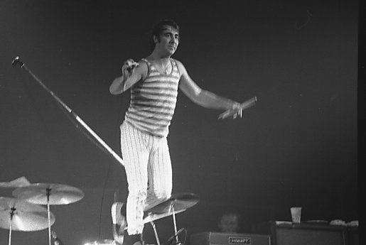 Keith Moon in 1976