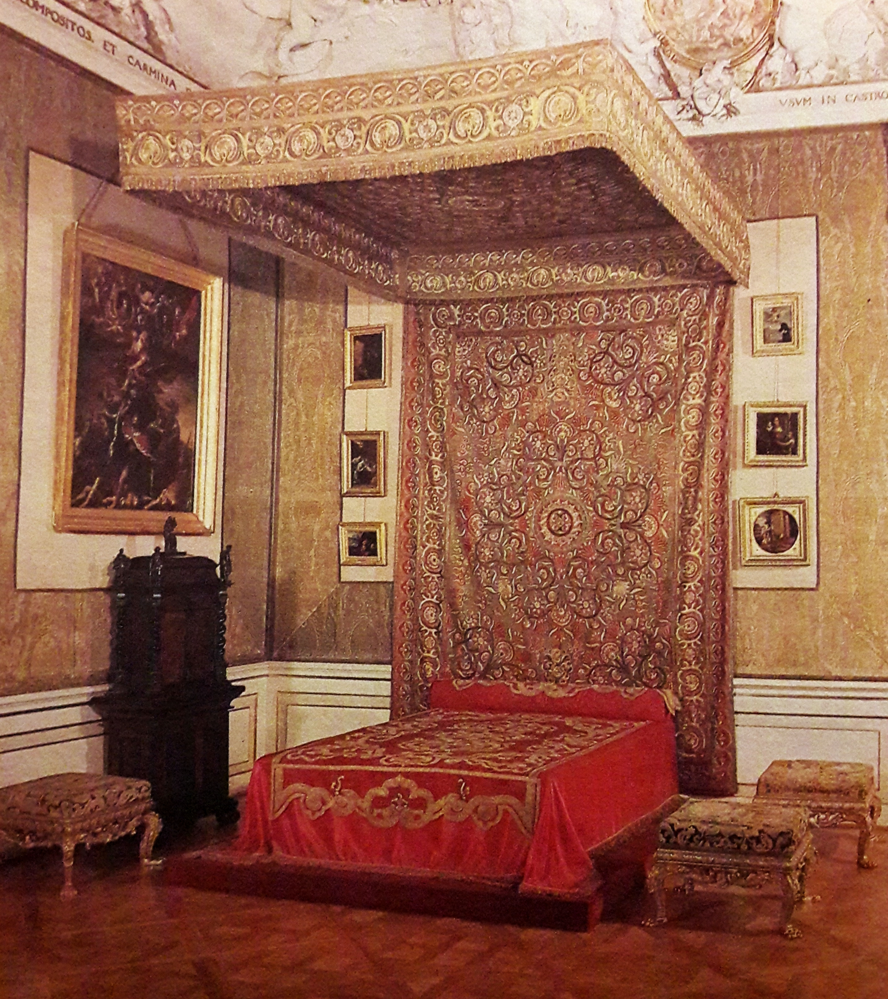 Filekings Bedroom In The Wilanow Palace Jpg