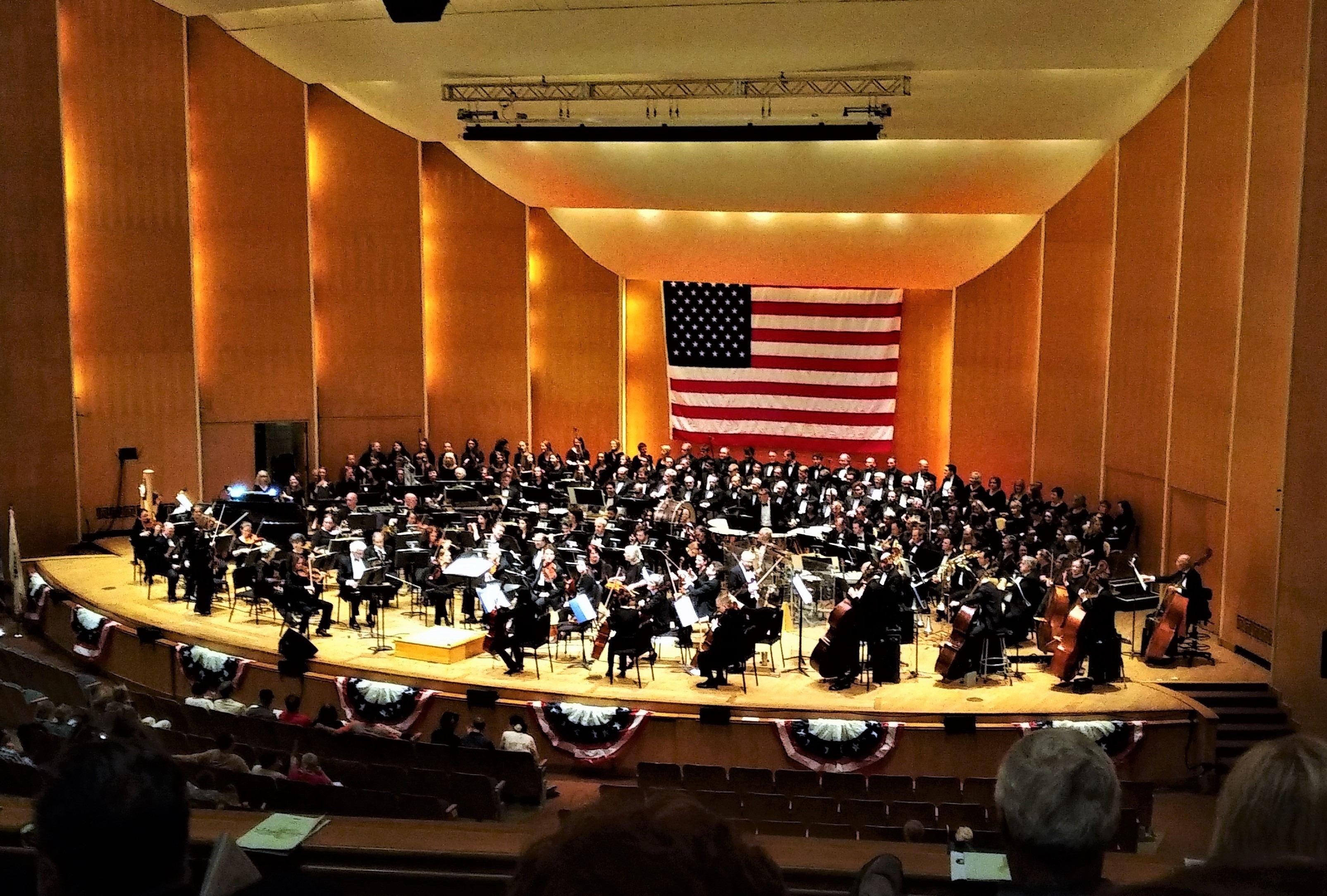 The Buffalo Philharmonic Orchestra and Chorus in [[Kleinhans Music Hall