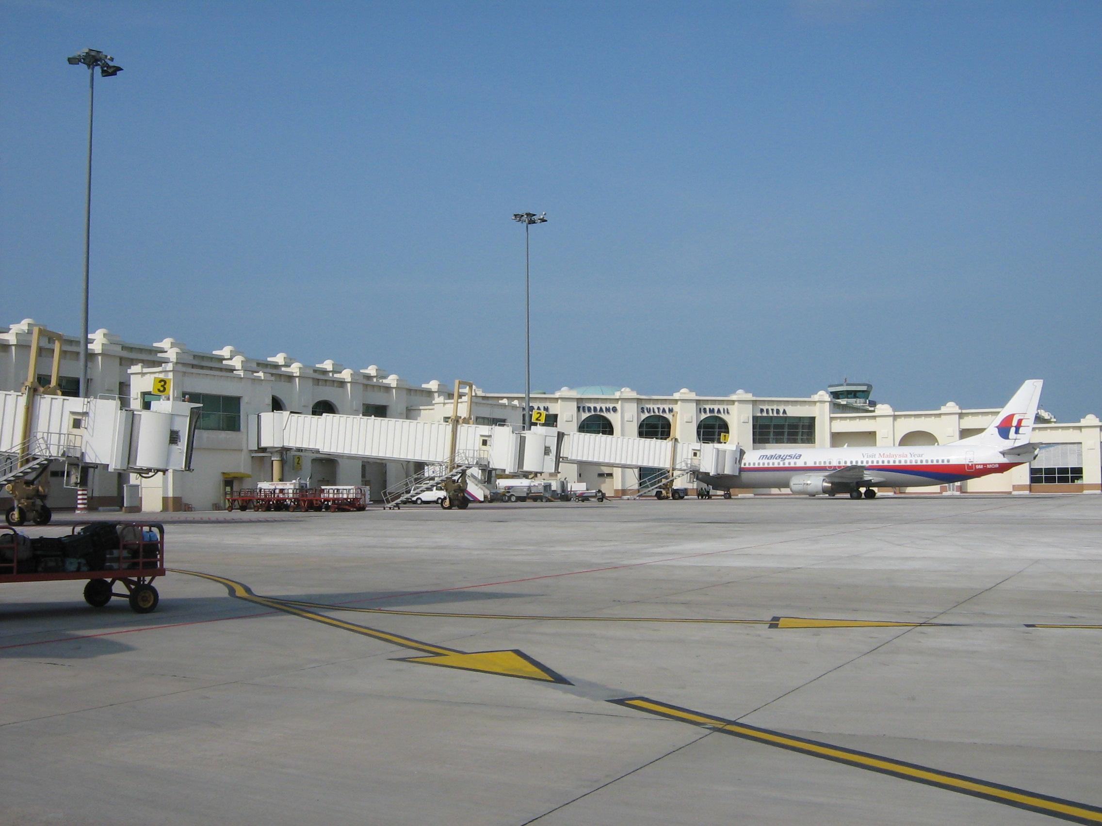 White apron malaysia - File Kota Bharu Airport Apron View Jpg