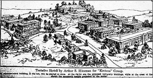 Krotona sketch public domain circa 1912