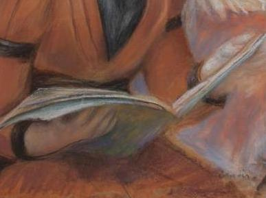 La Lecture - Renoir (détail)