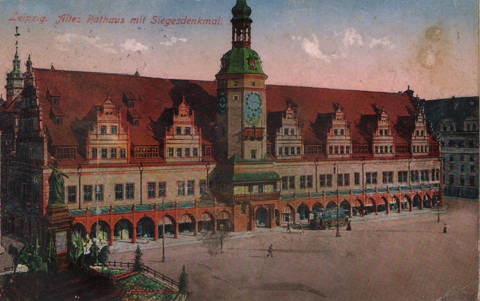 File Leipzig Old Town Hall Jpg Wikipedia