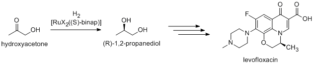 levofloxaxin synthesis