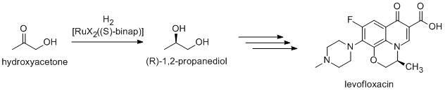 levofloxaxinesynthese