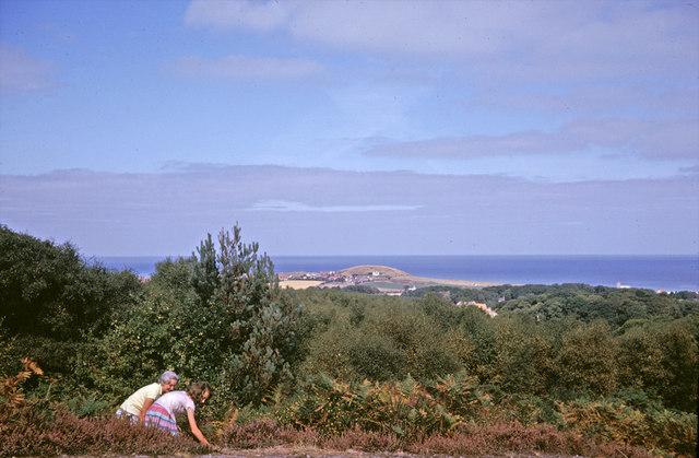 Looking towards West Runton from the Roman Camp, Norfolk taken 1964 - geograph.org.uk - 806470