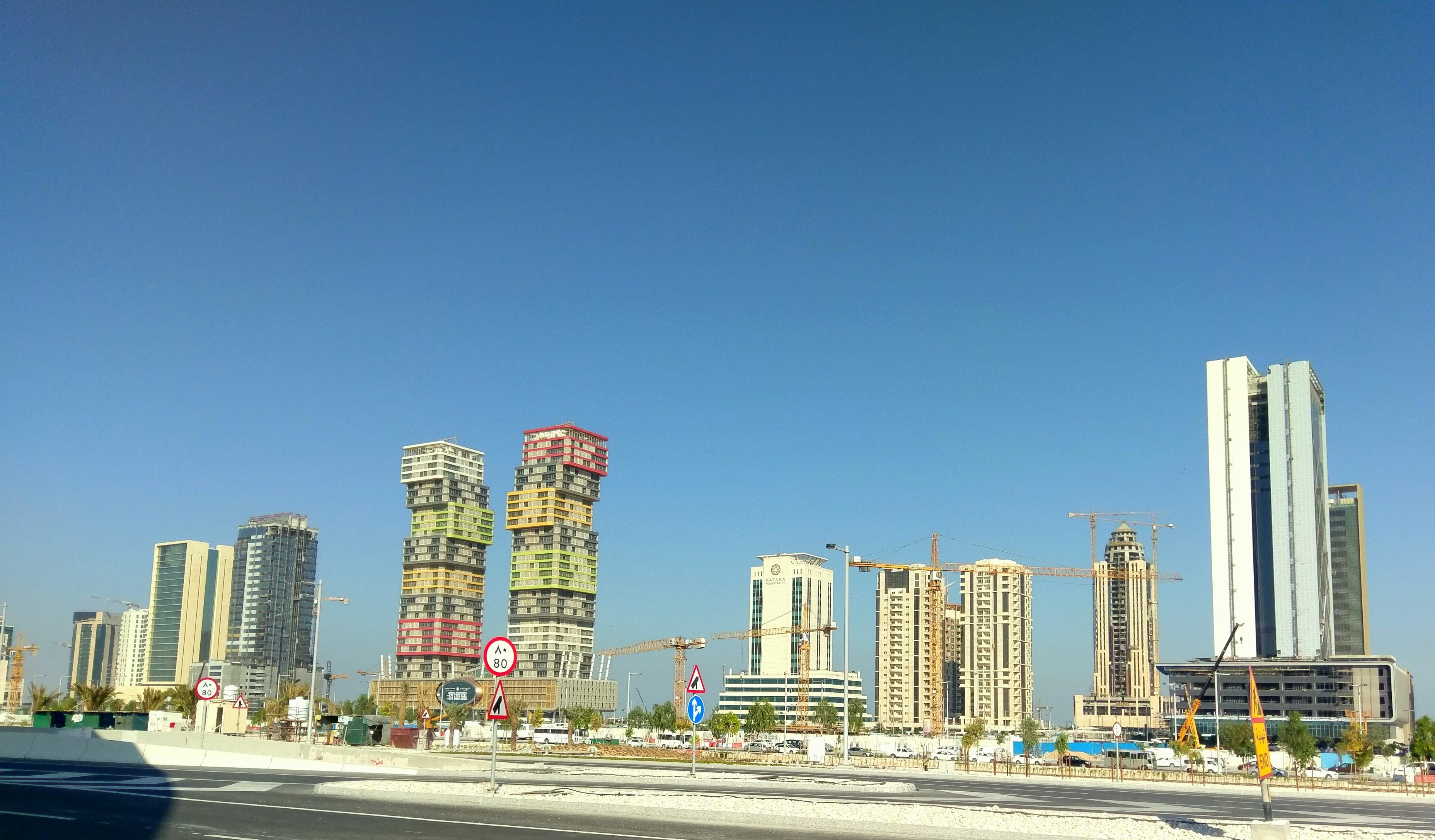 Lavorare In Qatar Architetto lusail - wikipedia