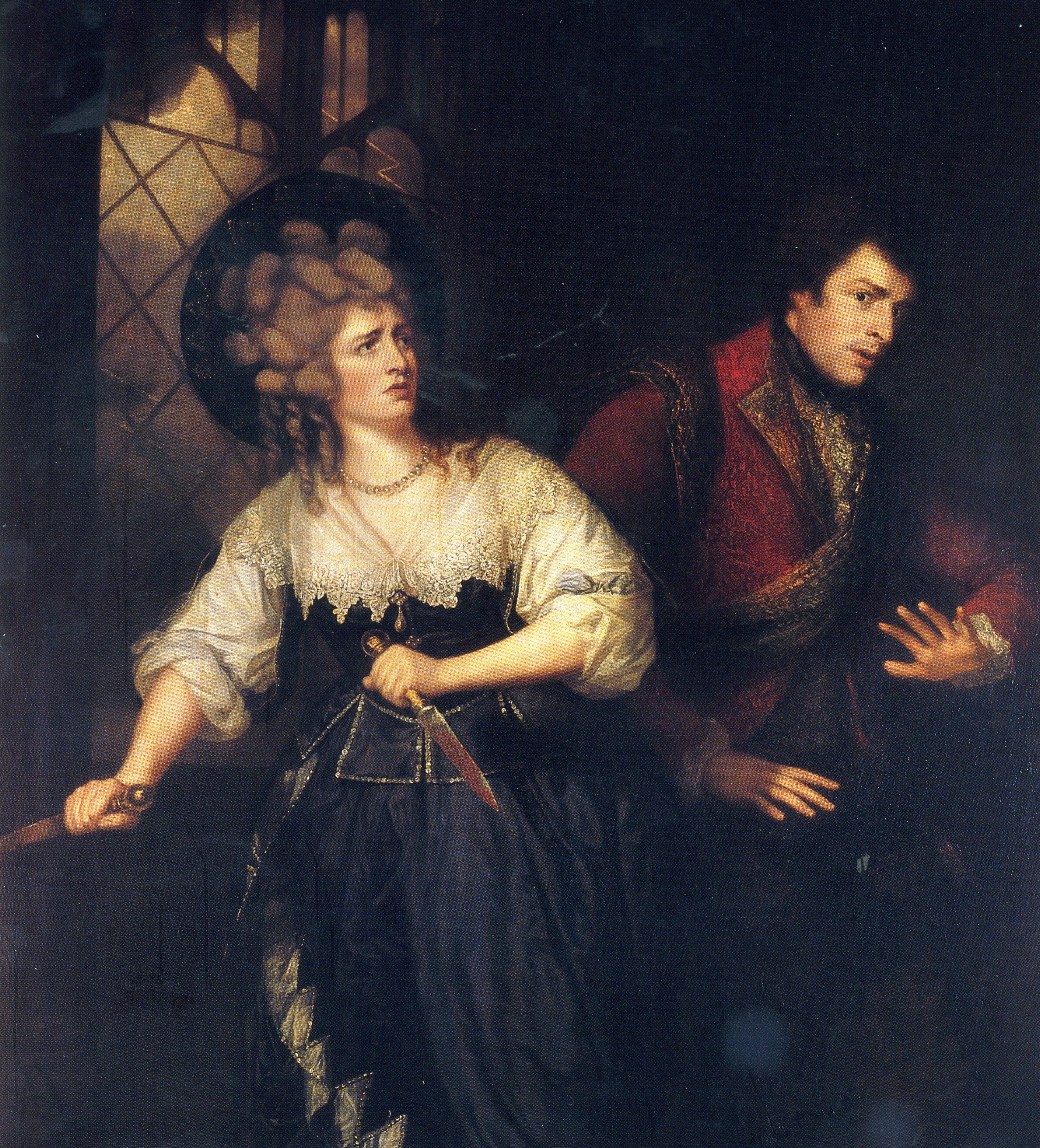 how does lady macbeth persuade macbeth to commit the murder Here's another count against ambition: after reading the letter from her husband (which recounts the witches' prophesy), lady macbeth's thoughts immediately turn to murder.