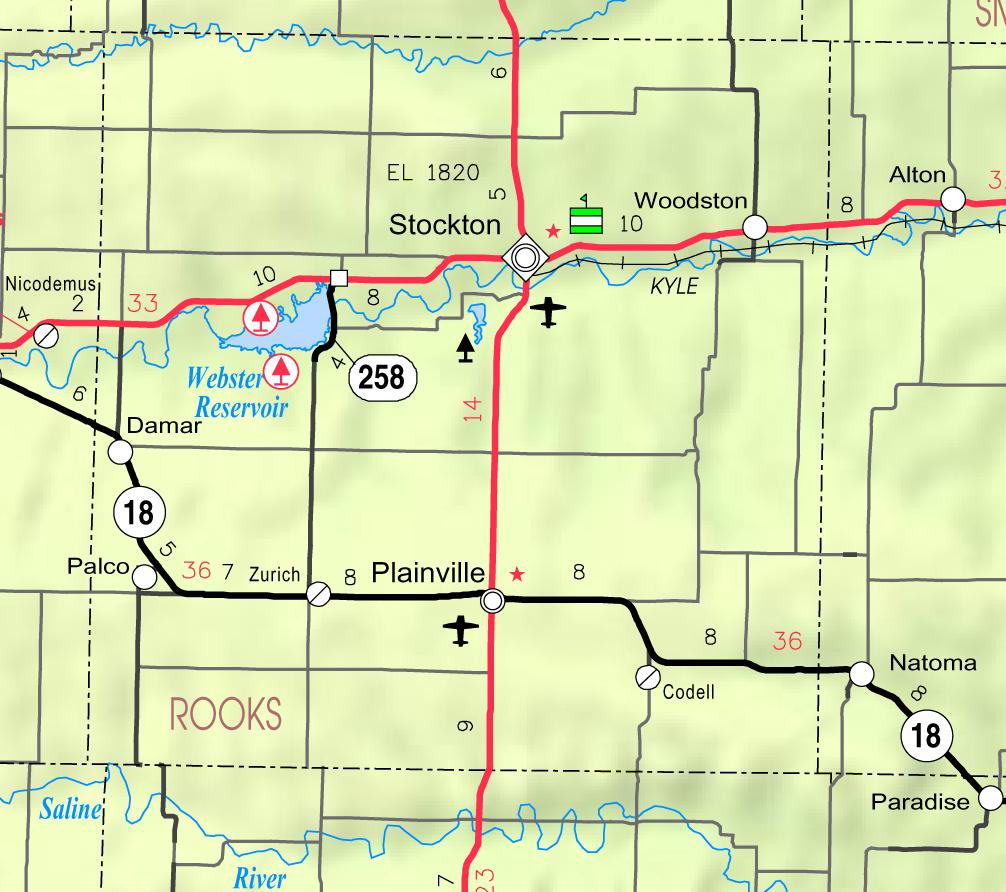 Alton Kansas Map.Webster Reservoir Wikipedia