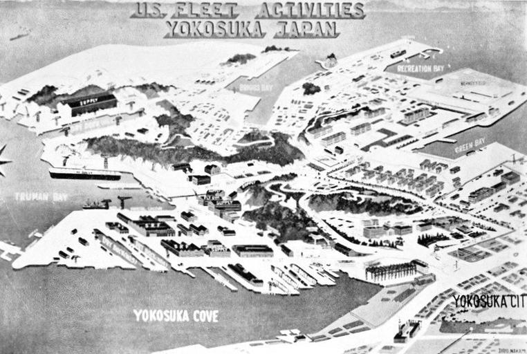 File:Map of US Navy Fleet Activites Yokosuka, Japan, in 1957