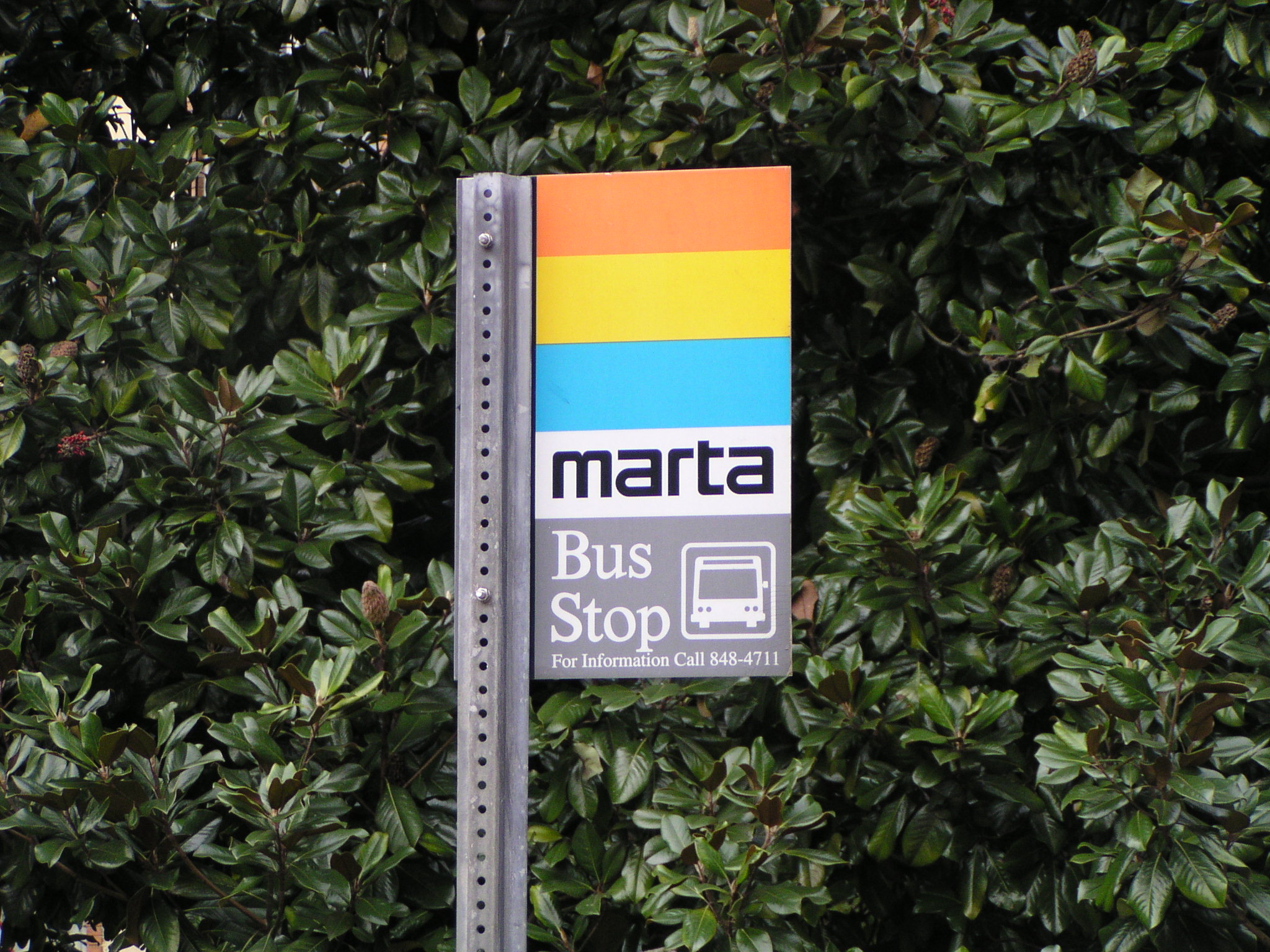Marta stop, Atlanta--Wikipedia photo