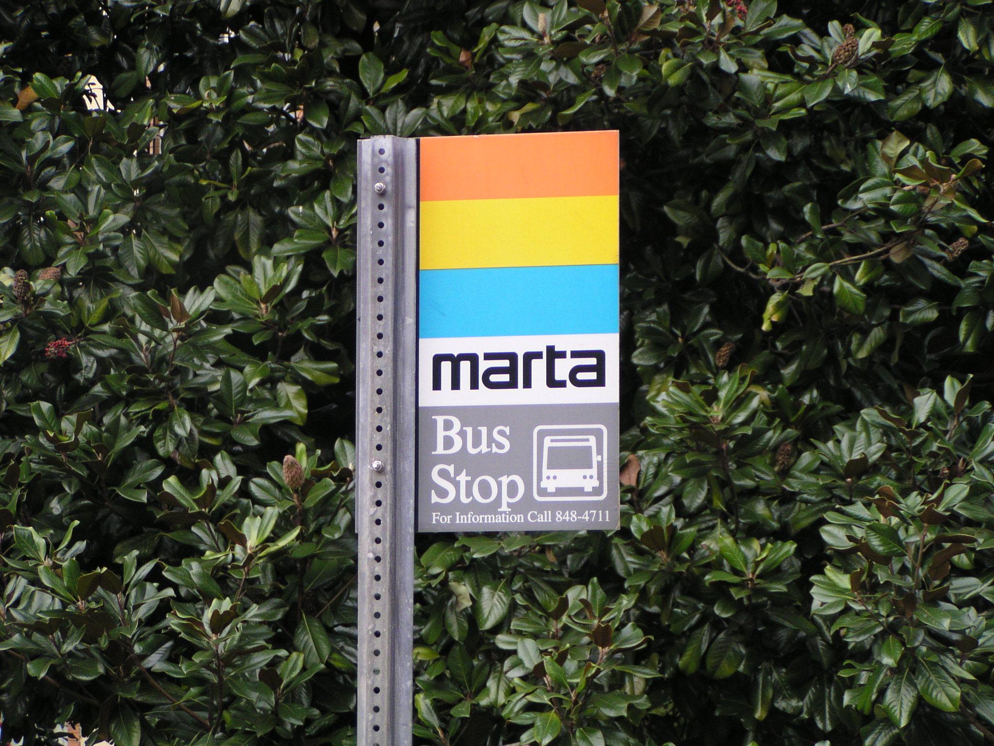 Marta stop, Atlanta--Wikipedia photo