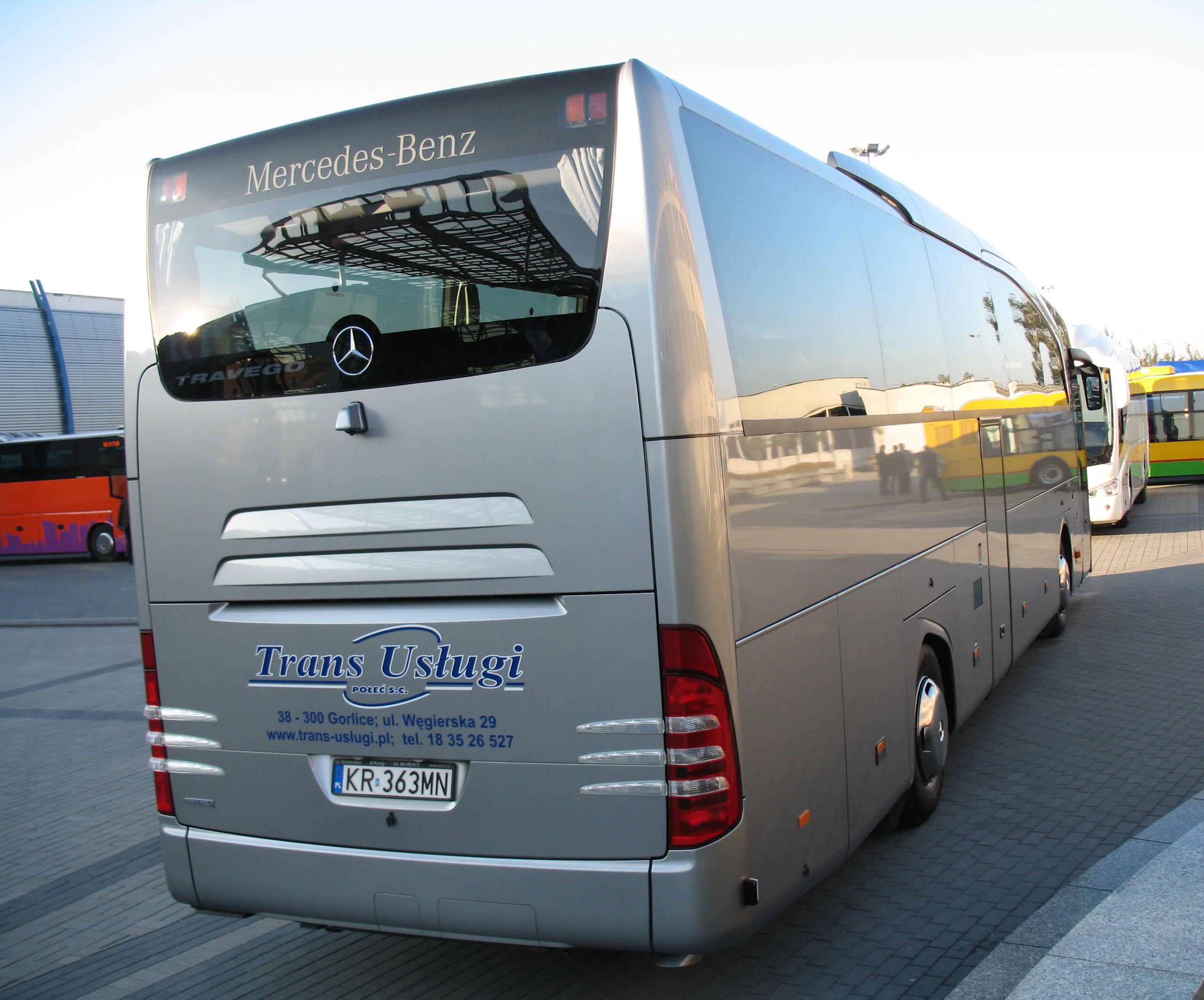 Mercedes Travego 2018 >> File:Mercedes-Benz Travego in Kielce - rear.jpg - Wikimedia Commons