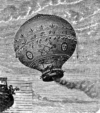 Antiguos globos aerostáticos