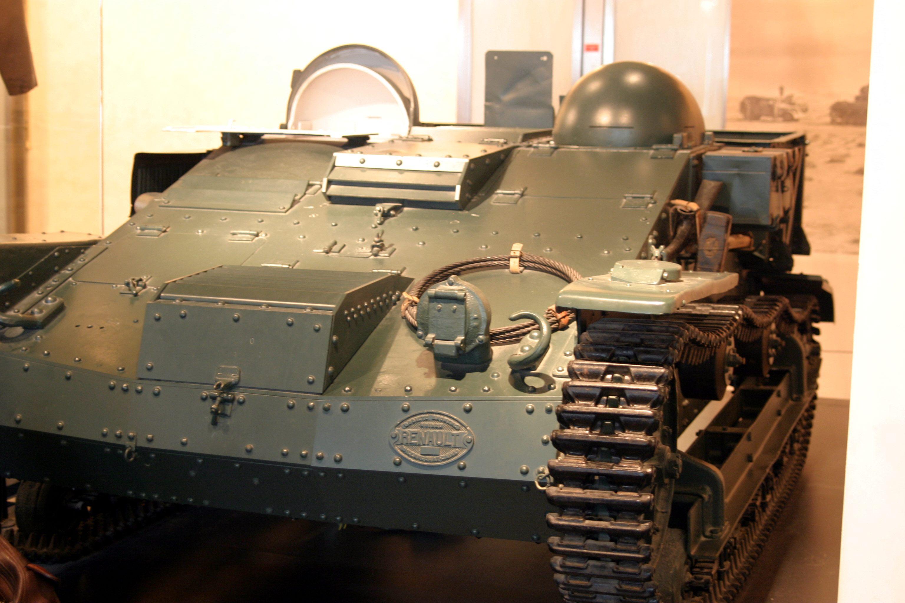 renault ue2 chenilette во второй мировой войне