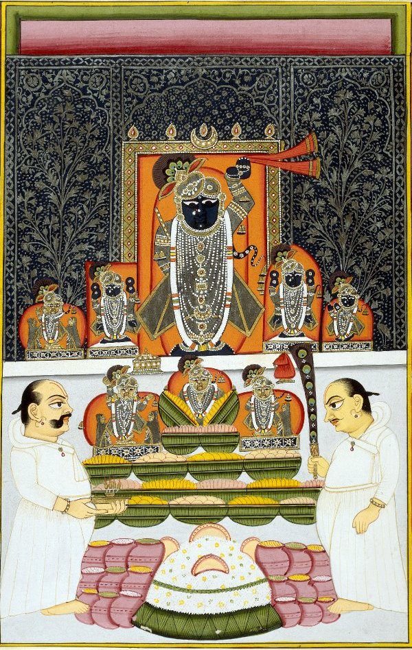 Nathdwara Srinathji (Lord Krishna as a child) Painting
