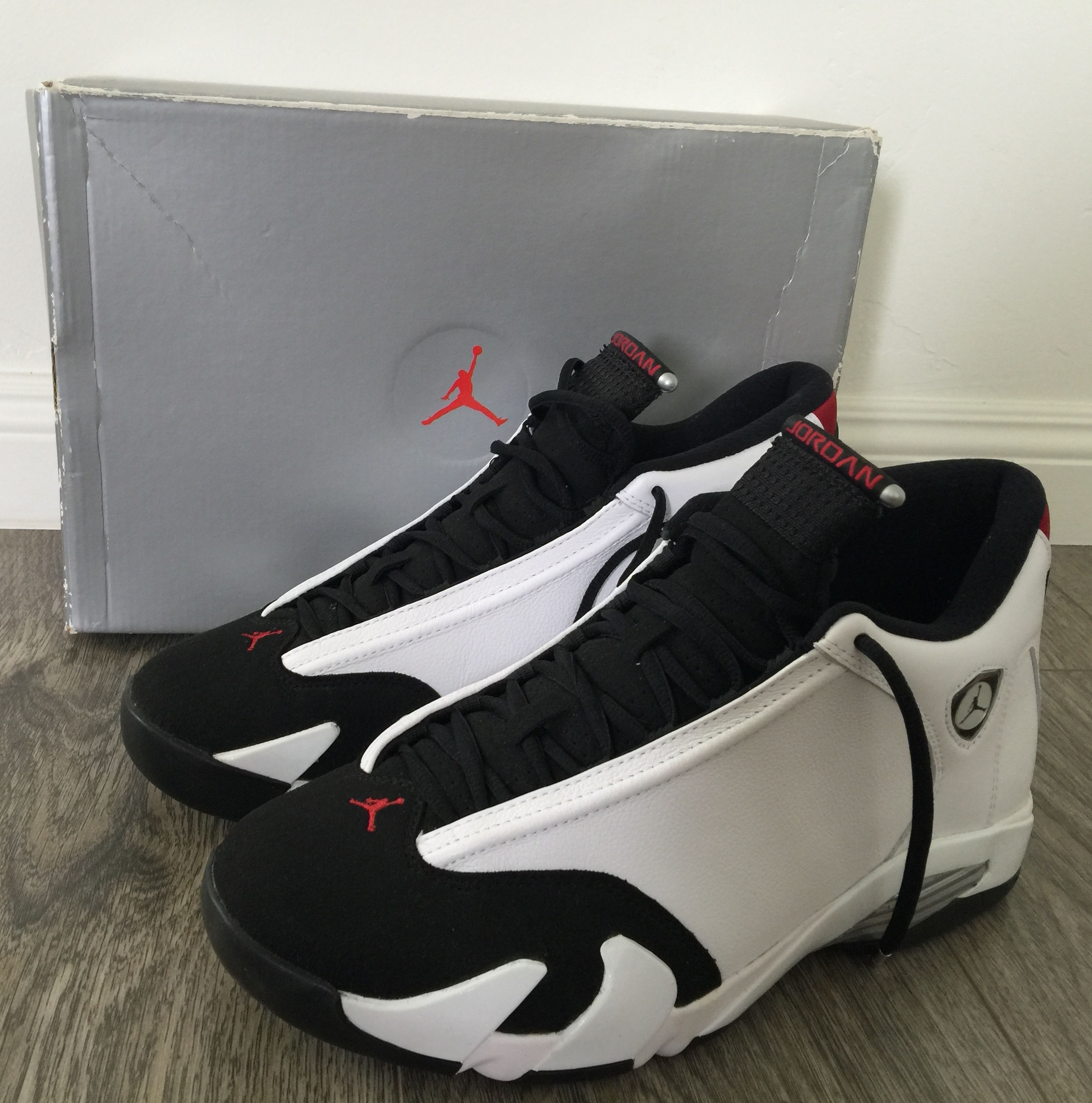 Jordan Retro  Black White Red Dog Quickstrike Shoes Release