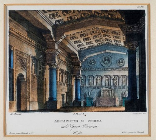 Alessandro Sanquirico's set design for act 1, scene 2, for the original production Norma-Alessandro-Sanquirico.jpg
