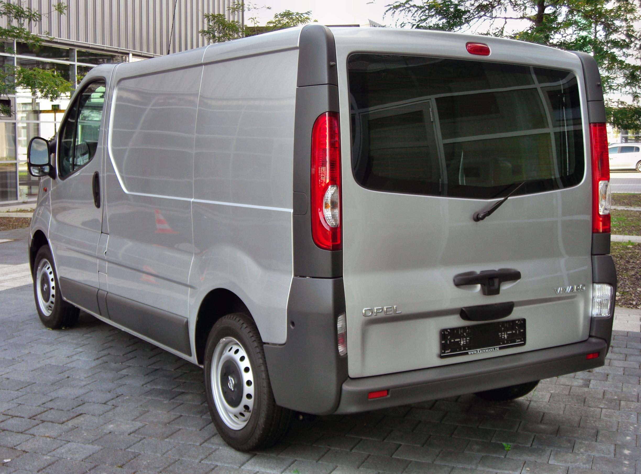 file opel vivaro 20090905 rear jpg wikimedia commons. Black Bedroom Furniture Sets. Home Design Ideas