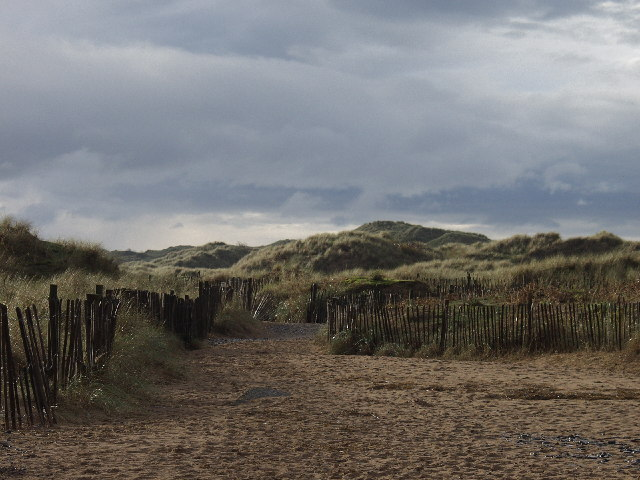 Outer Dunes behind Talacre Beach - geograph.org.uk - 70608