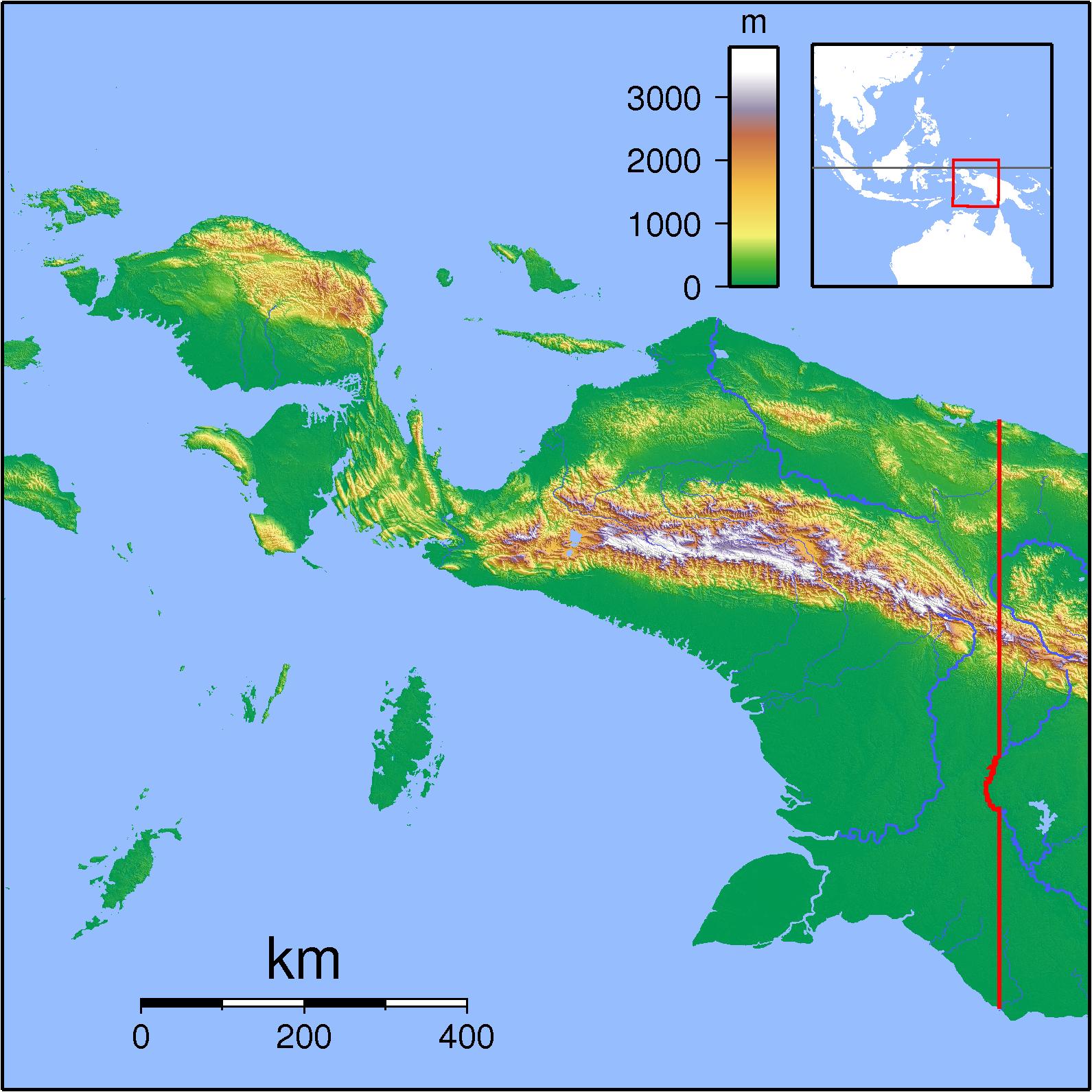 Biak Indonesia  city photo : Papua Locator Topography Wikipedia, the free encyclopedia