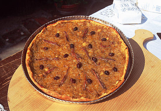 Cosa assaggiare a Nizza, Francia: la pissaladière