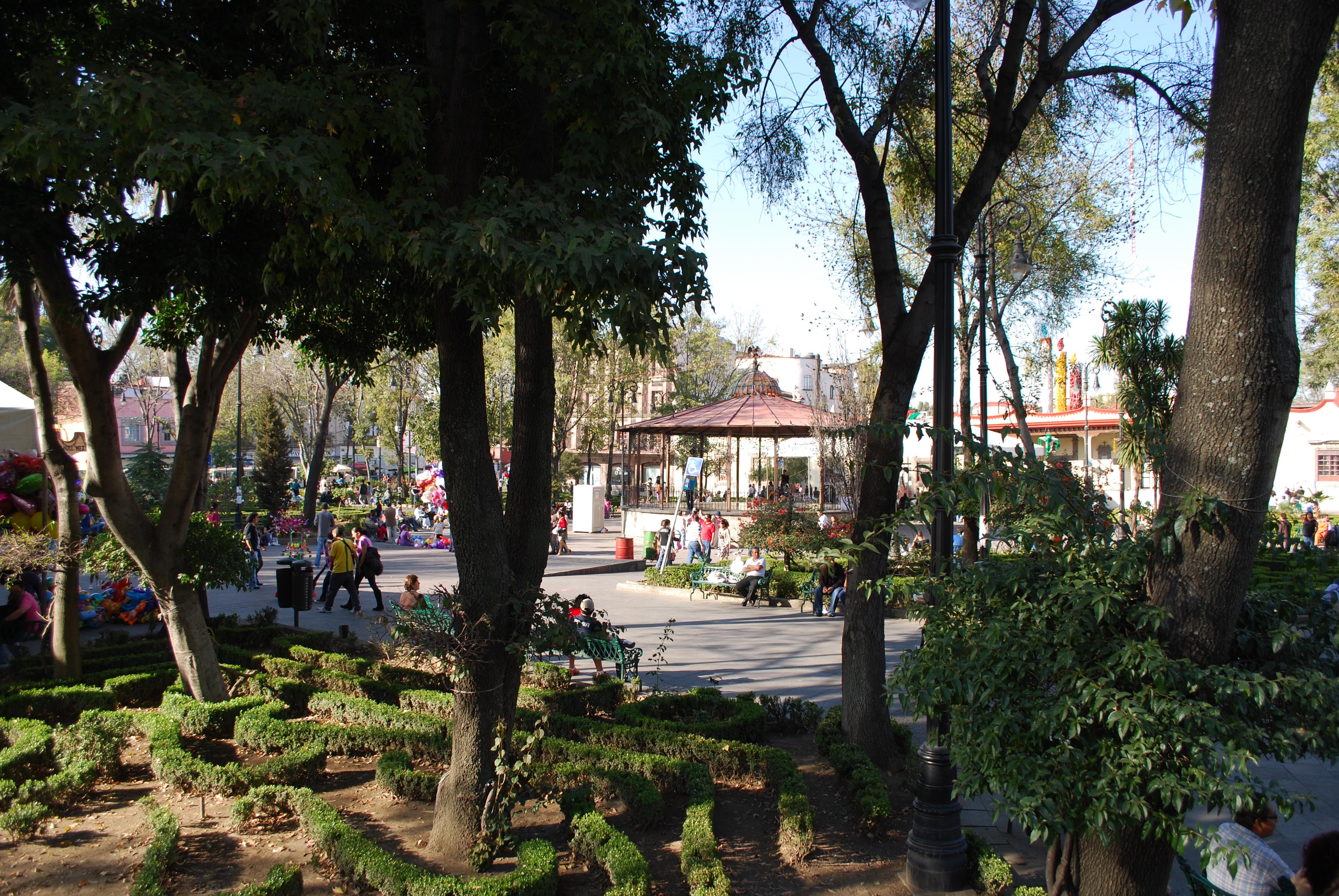 File Plazahidalgocoyoacan Jpg Wikimedia Commons
