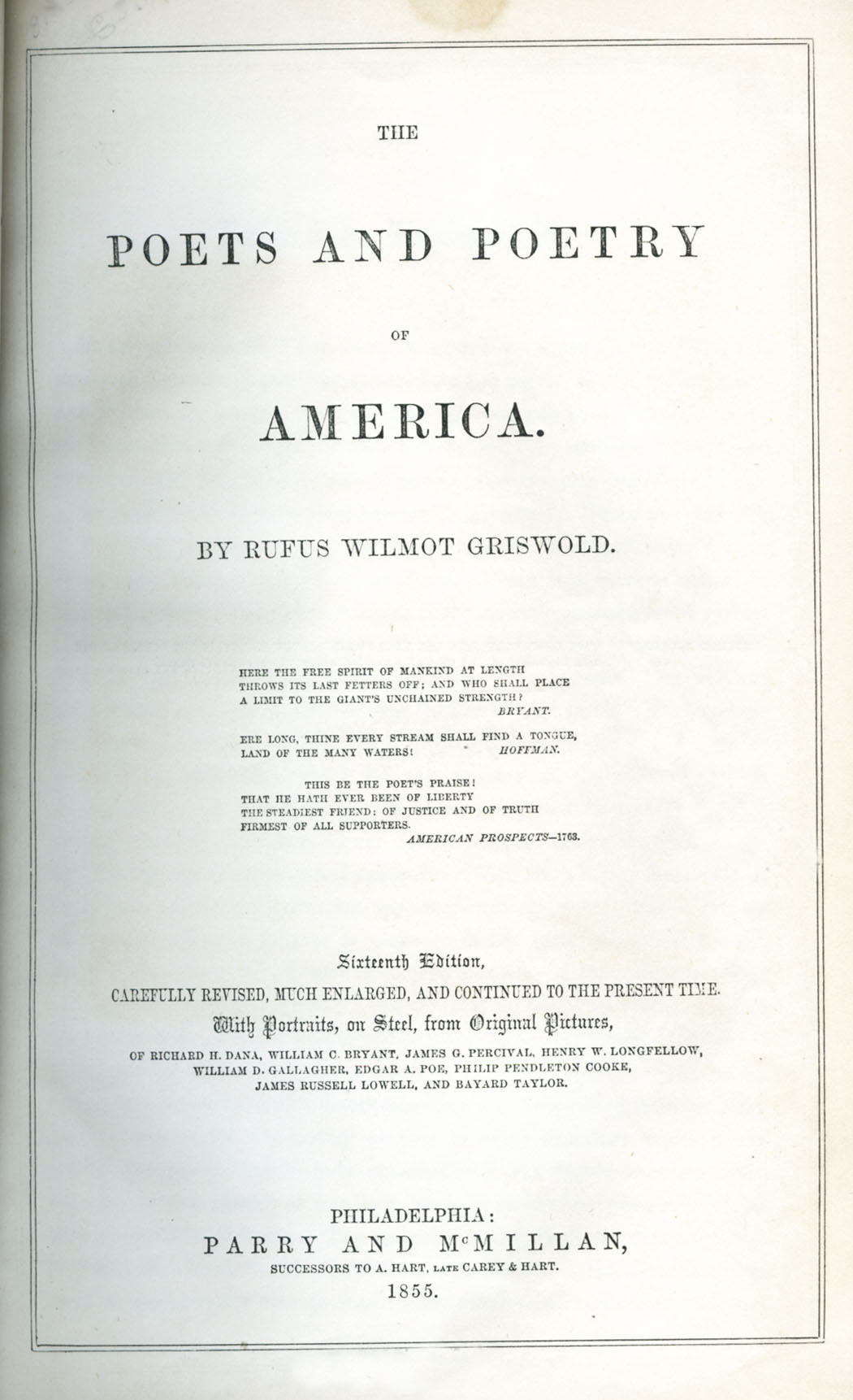 The Poets And Poetry Of America Wikipedia