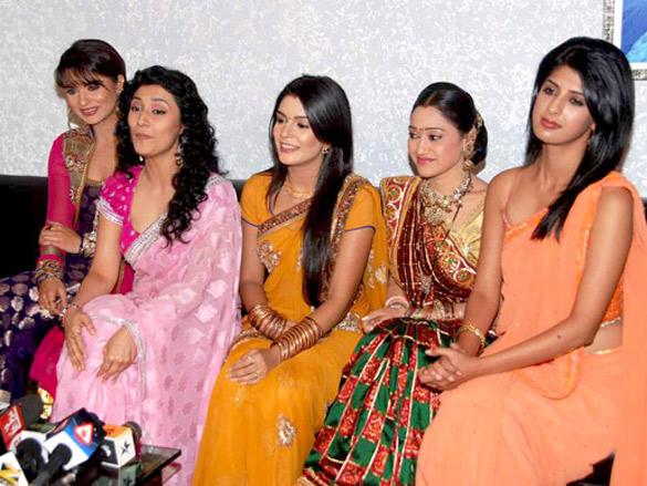 File Pooja Gaur  Ragini Khanna  Disha Wakani  Aashka Goradia Aishwarya    Pooja Sharma And Aishwarya Sakhuja
