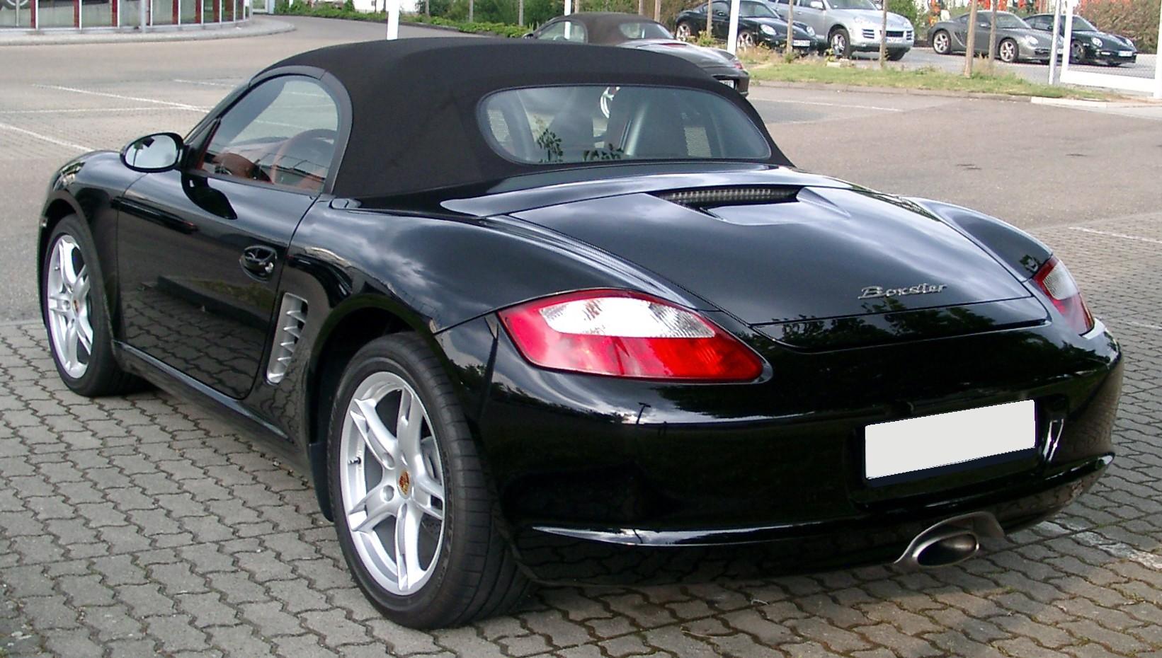 File:Porsche Boxster rear 20080521.jpg - Wikimedia Commons