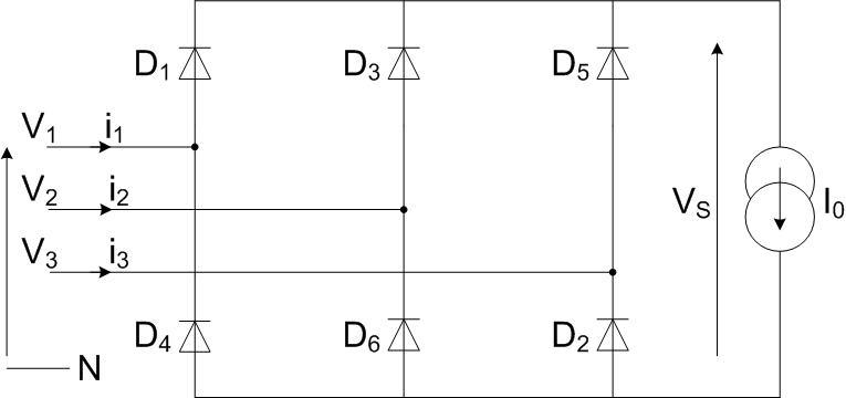 Redresseur triphasé P3