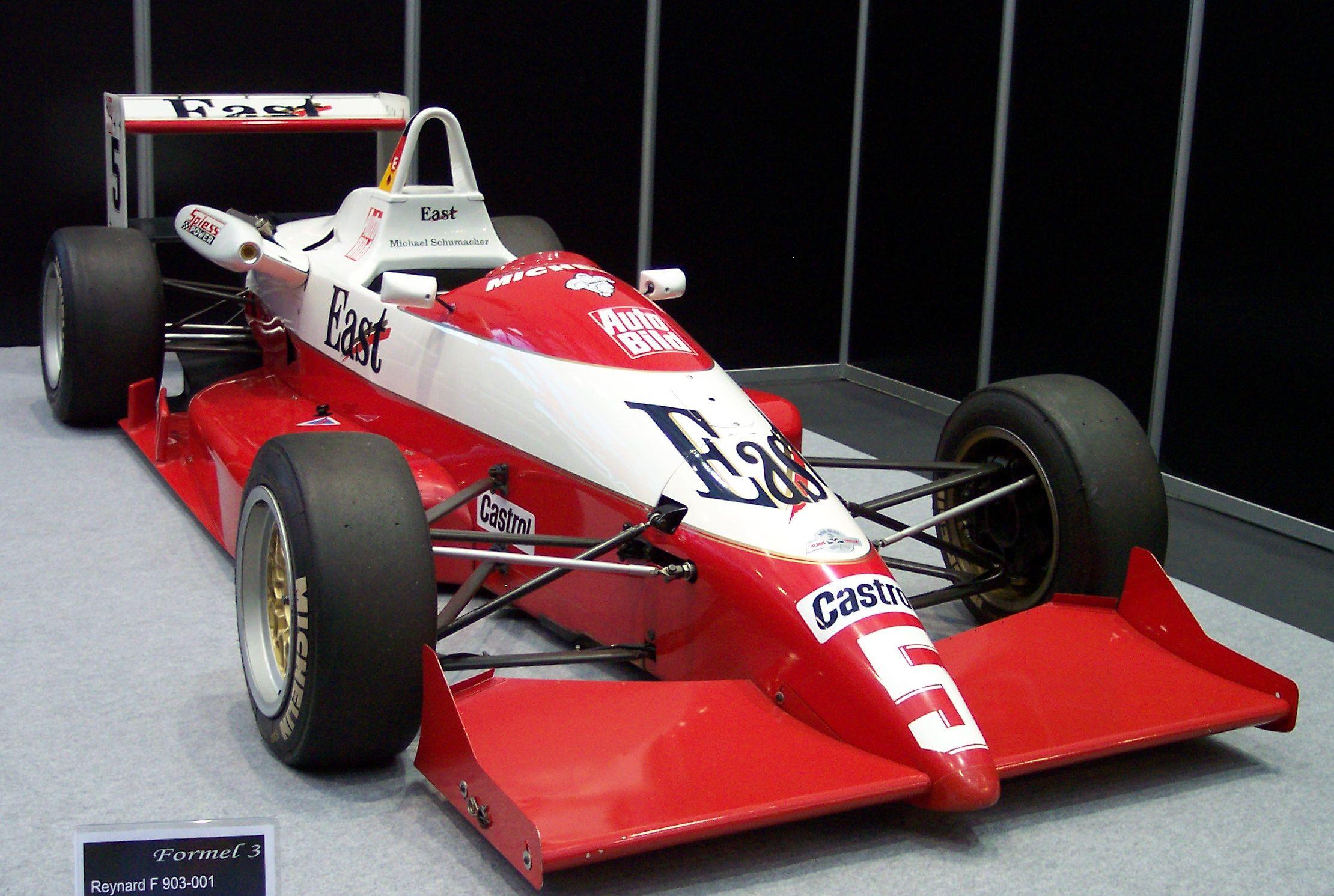 Reynard_F_903-001_1990_Michael_Schumacher_Formula_3_EMS Elegant Ferrari F 108 Al-mondial 8 Cars Trend
