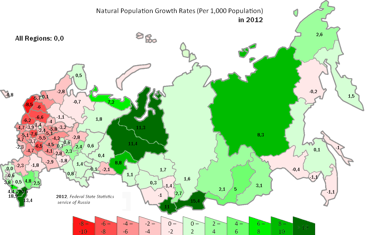 Description Russia natural population growth rates 2012.PNG