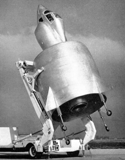 SNECMA Coléoptère on ramp 1959.jpg
