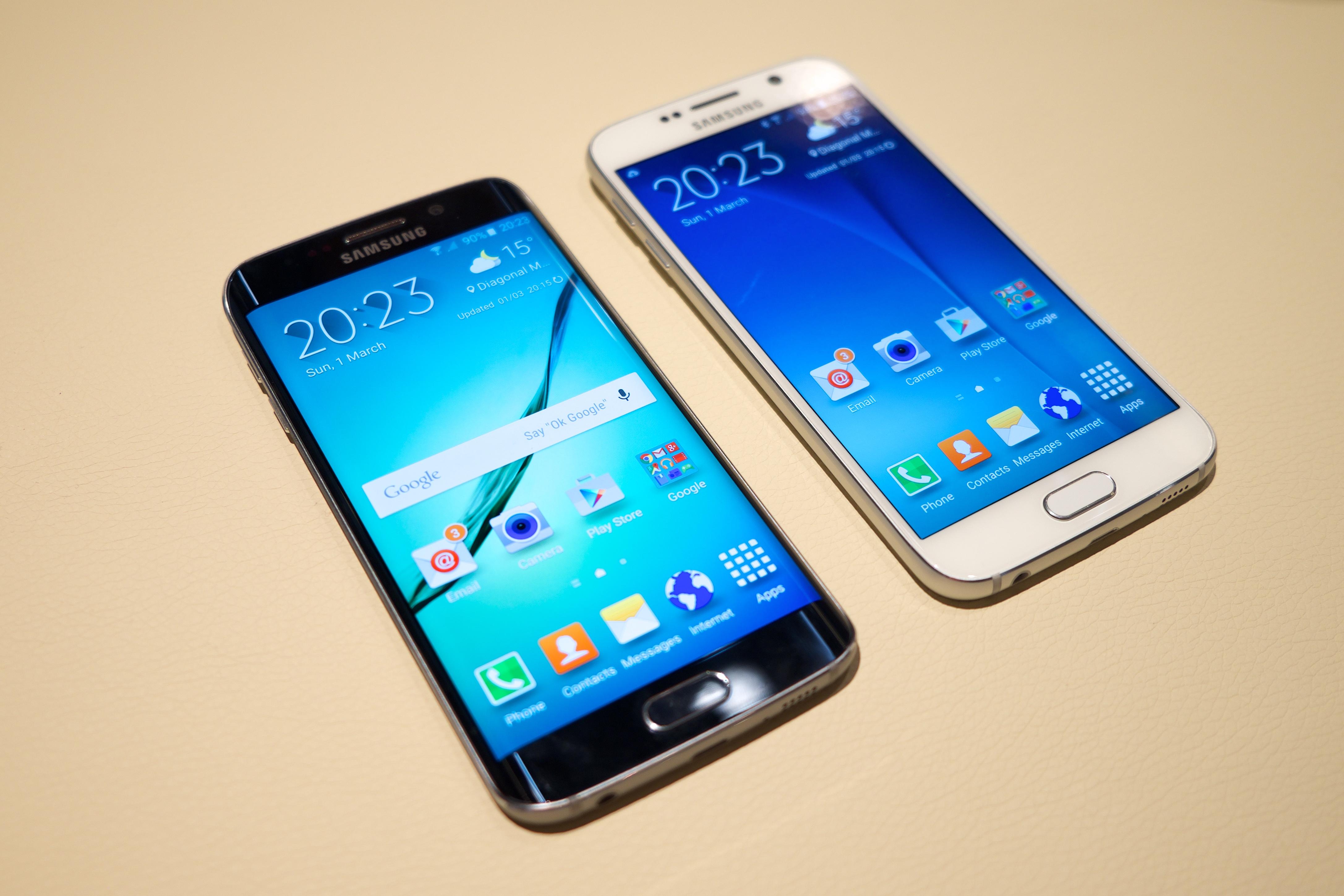 Filesamsung Galaxy S6 Edge Wikimedia Commons Samsung