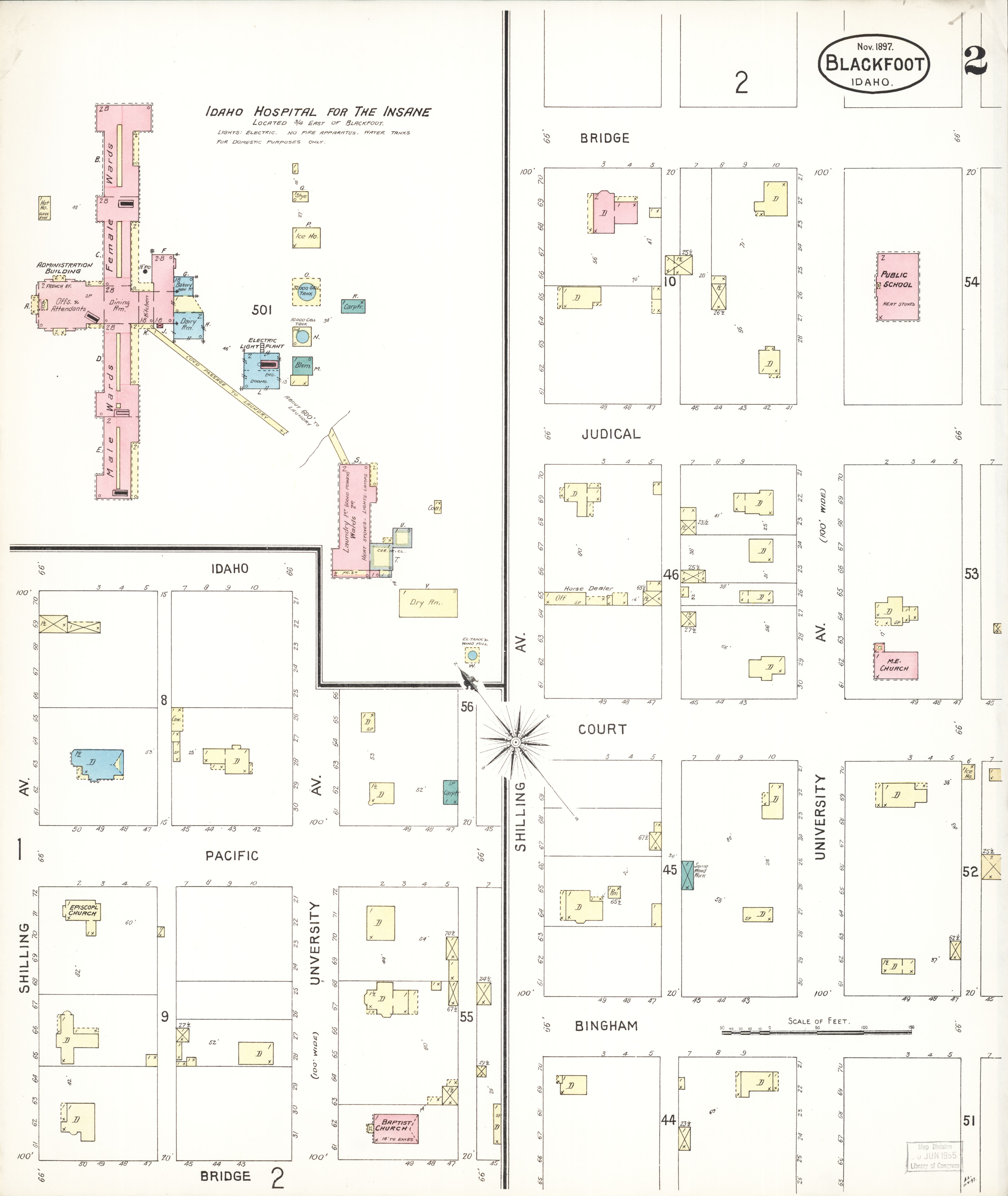 File Sanborn Fire Insurance Map From Blackfoot Bingham County