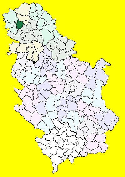 kula srbija mapa Kula (općina)   Wikiwand kula srbija mapa