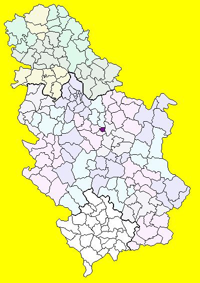 lapovo mapa File:Serbia Lapovo.png   Wikimedia Commons lapovo mapa