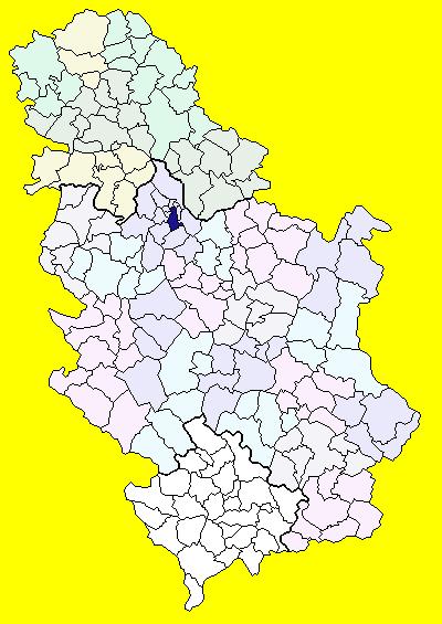 vozdovac mapa File:Serbia Voždovac.png   Wikimedia Commons vozdovac mapa