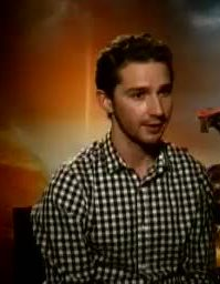 Shia LaBeouf speaks about working with the mil...