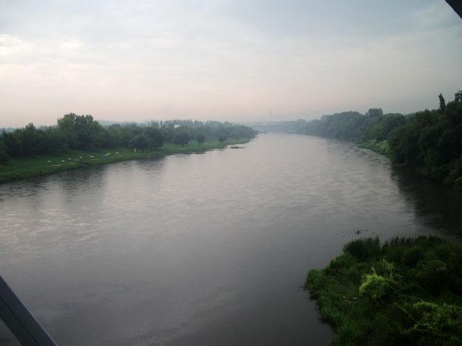 Куда течет река сосна схема фото 51