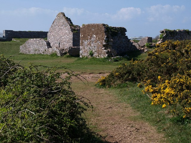 Southern Fort, Berry Head - geograph.org.uk - 1268563