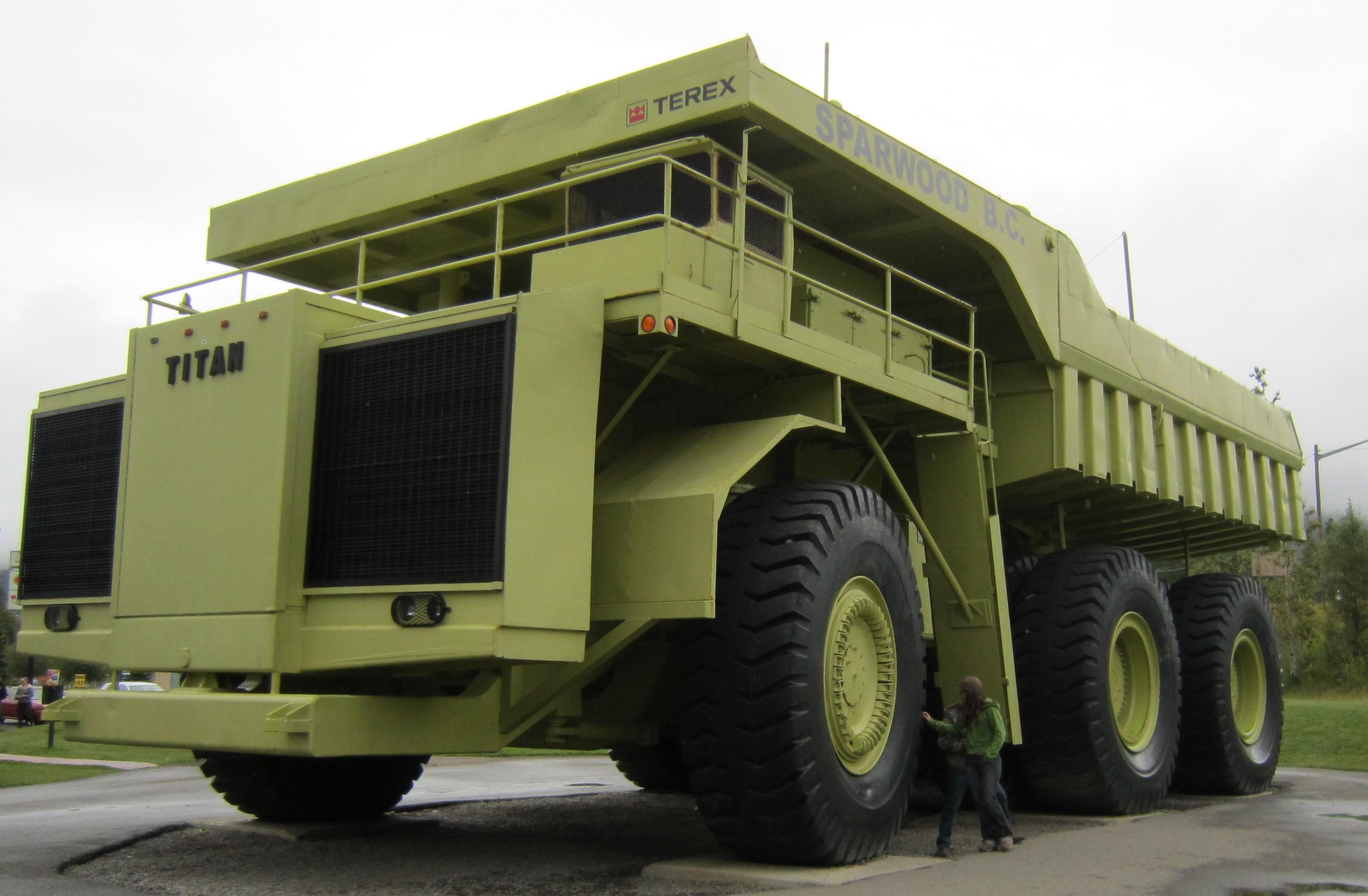 Самые большие грузовики в мире 17 фотография